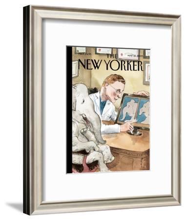 The New Yorker Cover - May 25, 2009-Barry Blitt-Framed Premium Giclee Print