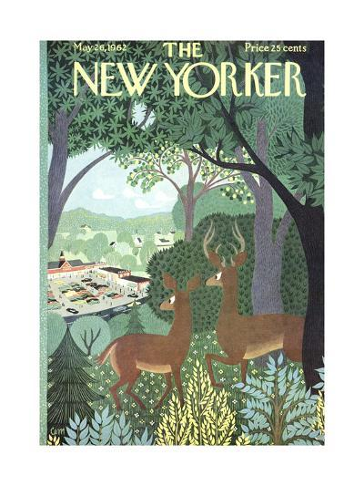 The New Yorker Cover - May 26, 1962-Charles E. Martin-Premium Giclee Print