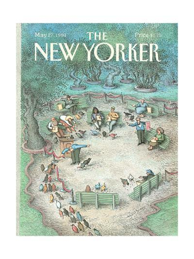 The New Yorker Cover - May 27, 1991-John O'brien-Premium Giclee Print