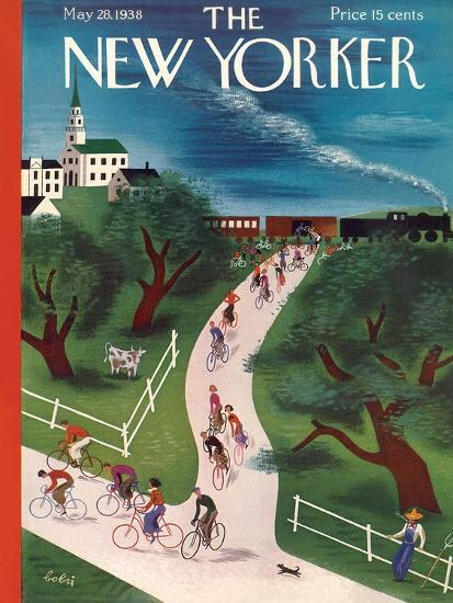 The New Yorker Cover - May 28, 1938-Victor Bobritsky-Premium Giclee Print