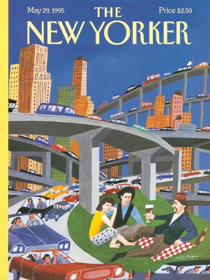 The New Yorker Cover - May 29, 1995-Mark Ulriksen-Premium Giclee Print