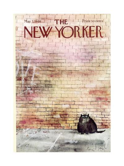 The New Yorker Cover - May 3, 1969-Ronald Searle-Premium Giclee Print