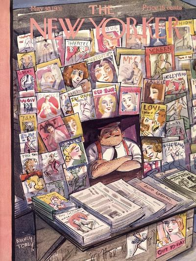 The New Yorker Cover - May 30, 1931-Barney Tobey-Premium Giclee Print