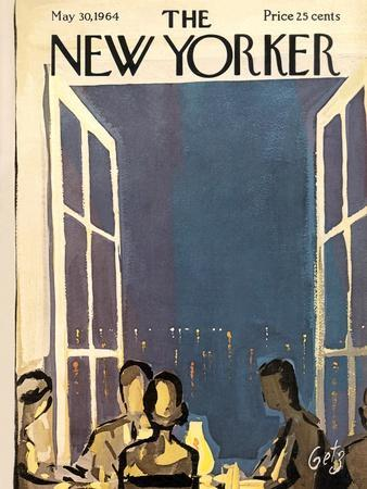The New Yorker Cover - May 30, 1964-Arthur Getz-Premium Giclee Print