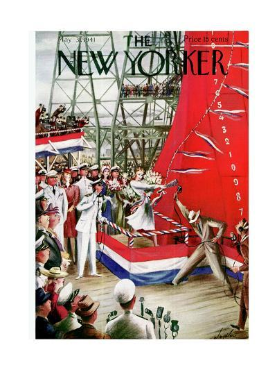 The New Yorker Cover - May 31, 1941-Constantin Alajalov-Premium Giclee Print
