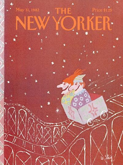 The New Yorker Cover - May 31, 1982-William Steig-Premium Giclee Print