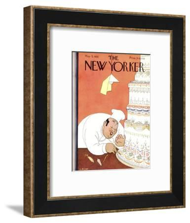 The New Yorker Cover - May 5, 1928-Leonard Dove-Framed Premium Giclee Print