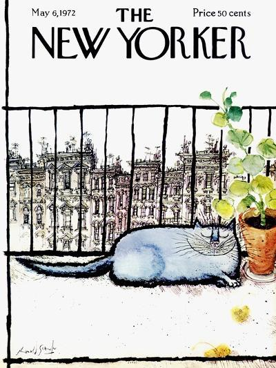 The New Yorker Cover - May 6, 1972-Ronald Searle-Premium Giclee Print