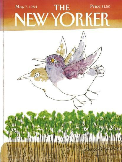 The New Yorker Cover - May 7, 1984-Joseph Low-Premium Giclee Print