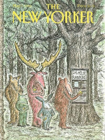 The New Yorker Cover - May 7, 1990-Edward Koren-Premium Giclee Print