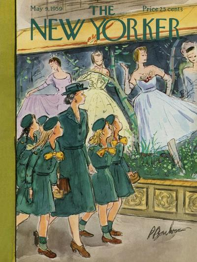 The New Yorker Cover - May 9, 1959-Perry Barlow-Premium Giclee Print