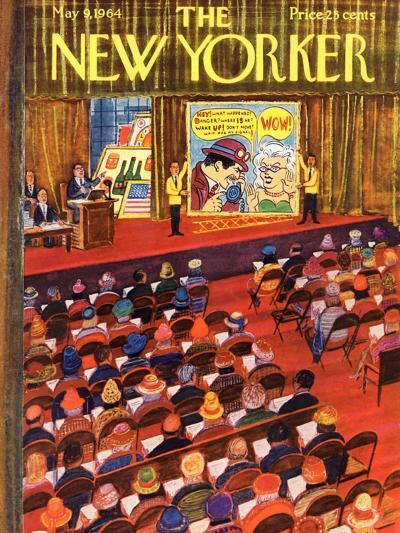 The New Yorker Cover - May 9, 1964-Anatol Kovarsky-Premium Giclee Print