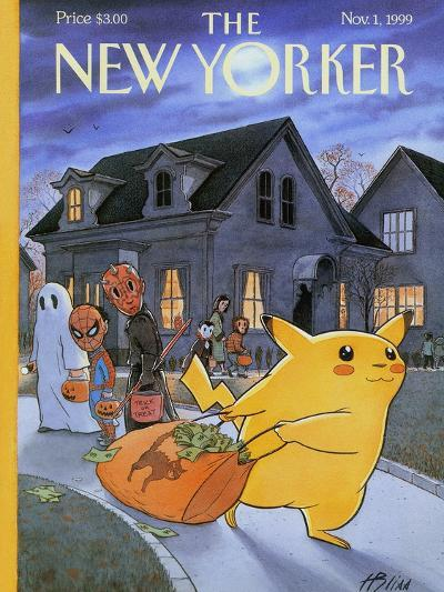 The New Yorker Cover - November 1, 1999-Harry Bliss-Premium Giclee Print