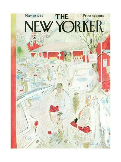 The New Yorker Cover - November 10, 1962-Garrett Price-Premium Giclee Print