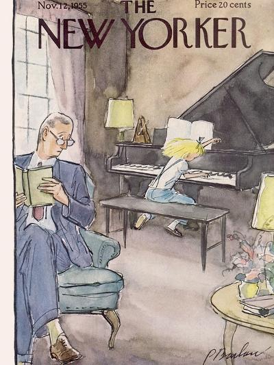The New Yorker Cover - November 12, 1955-Perry Barlow-Premium Giclee Print