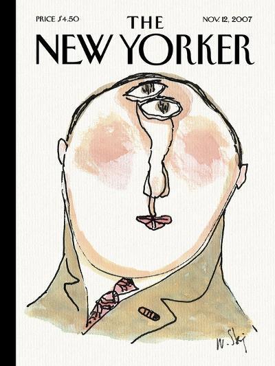 The New Yorker Cover - November 12, 2007-William Steig-Premium Giclee Print