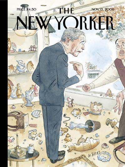The New Yorker Cover - November 13, 2006-Barry Blitt-Premium Giclee Print