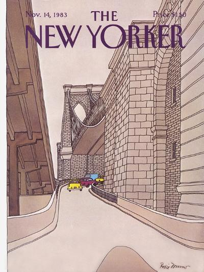 The New Yorker Cover - November 14, 1983-Roxie Munro-Premium Giclee Print