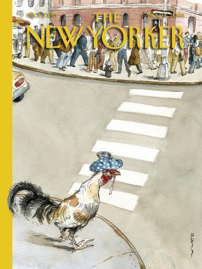 The New Yorker Cover - November 14, 2005-Barry Blitt-Premium Giclee Print