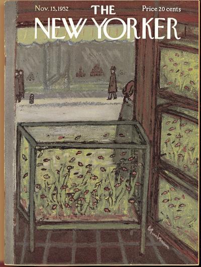 The New Yorker Cover - November 15, 1952-Abe Birnbaum-Premium Giclee Print