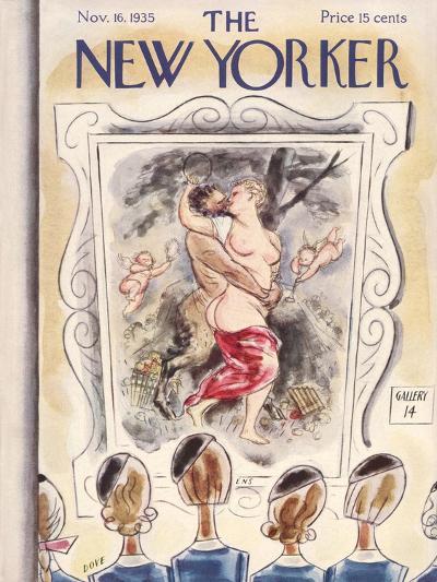The New Yorker Cover - November 16, 1935-Leonard Dove-Premium Giclee Print