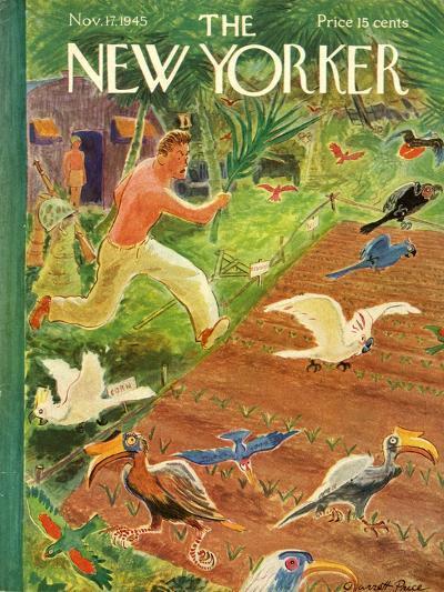 The New Yorker Cover - November 17, 1945-Garrett Price-Premium Giclee Print