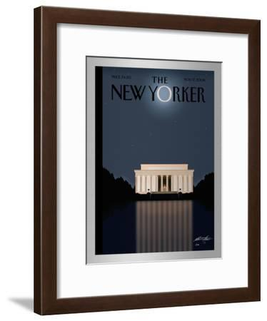 The New Yorker Cover - November 17, 2008-Bob Staake-Framed Limited Edition
