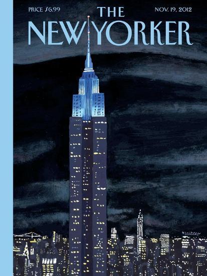 The New Yorker Cover - November 19, 2012-Mark Ulriksen-Premium Giclee Print