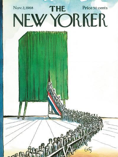 The New Yorker Cover - November 2, 1968-Arthur Getz-Premium Giclee Print