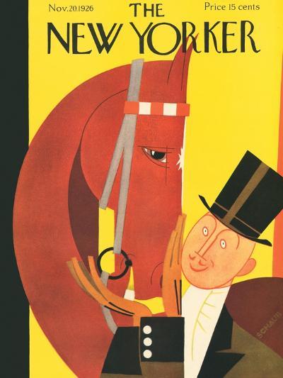The New Yorker Cover - November 20, 1926-Andre De Schaub-Premium Giclee Print