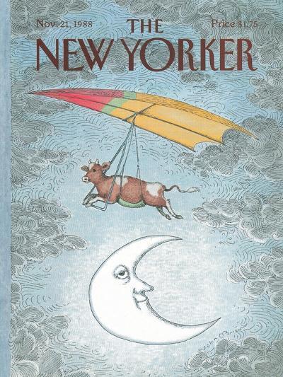 The New Yorker Cover - November 21, 1988-John O'brien-Premium Giclee Print