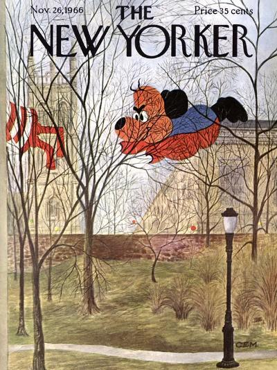 The New Yorker Cover - November 26, 1966-Charles E. Martin-Premium Giclee Print