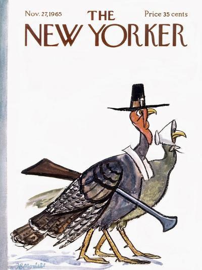 The New Yorker Cover - November 27, 1965-Frank Modell-Premium Giclee Print
