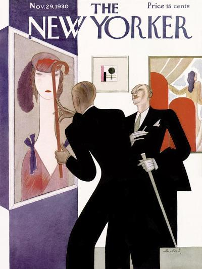 The New Yorker Cover - November 29, 1930-Victor Bobritsky-Premium Giclee Print