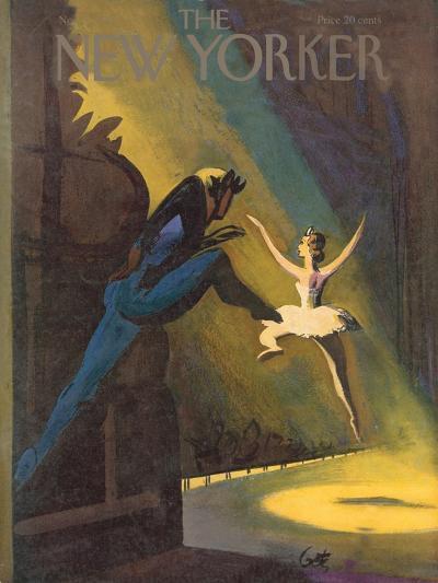 The New Yorker Cover - November 3, 1951-Arthur Getz-Premium Giclee Print