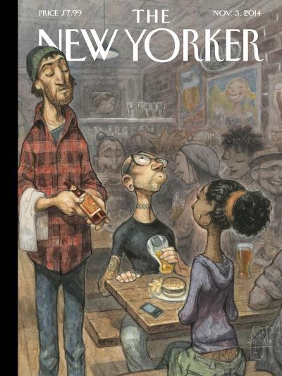 The New Yorker Cover - November 3, 2014--Premium Giclee Print