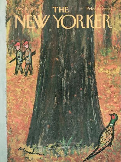 The New Yorker Cover - November 5, 1966-Abe Birnbaum-Premium Giclee Print
