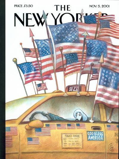 The New Yorker Cover - November 5, 2001-Carter Goodrich-Premium Giclee Print