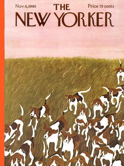The New Yorker Cover - November 6, 1965-Ilonka Karasz-Premium Giclee Print