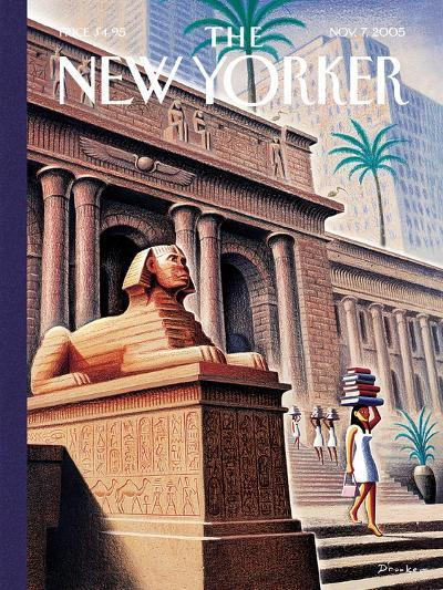 The New Yorker Cover - November 7, 2005-Eric Drooker-Premium Giclee Print