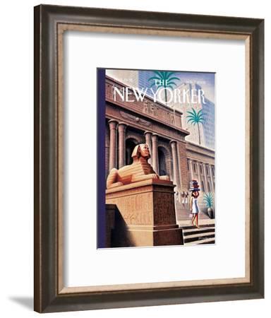 The New Yorker Cover - November 7, 2005-Eric Drooker-Framed Premium Giclee Print