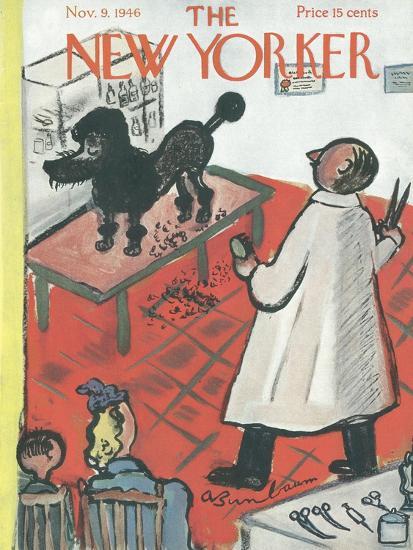 The New Yorker Cover - November 9, 1946-Abe Birnbaum-Premium Giclee Print