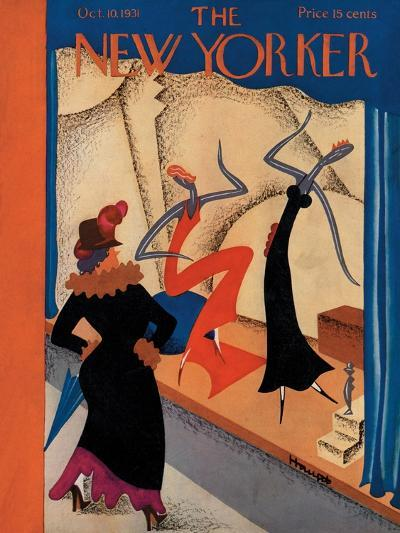 The New Yorker Cover - October 10, 1931-Theodore G. Haupt-Premium Giclee Print