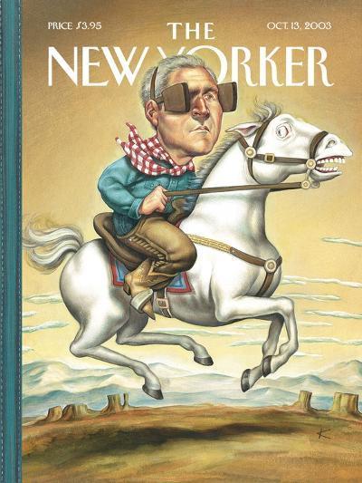 The New Yorker Cover - October 13, 2003-Anita Kunz-Premium Giclee Print