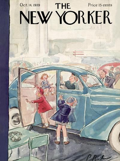 The New Yorker Cover - October 14, 1939-Perry Barlow-Premium Giclee Print