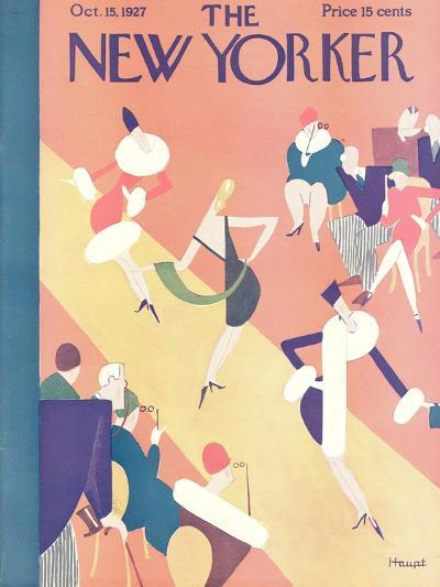 The New Yorker Cover - October 15, 1927-Theodore G. Haupt-Premium Giclee Print