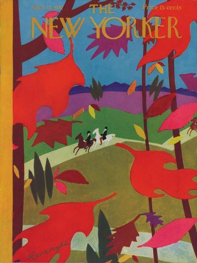 The New Yorker Cover - October 17, 1931-Adolph K. Kronengold-Premium Giclee Print