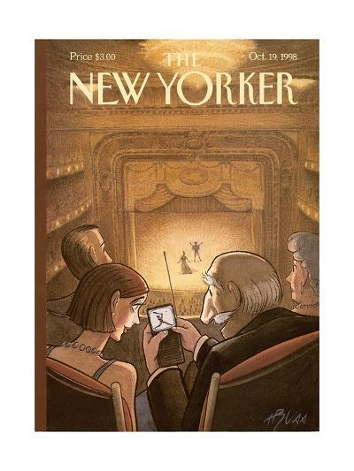 The New Yorker Cover - October 19, 1998-Harry Bliss-Premium Giclee Print