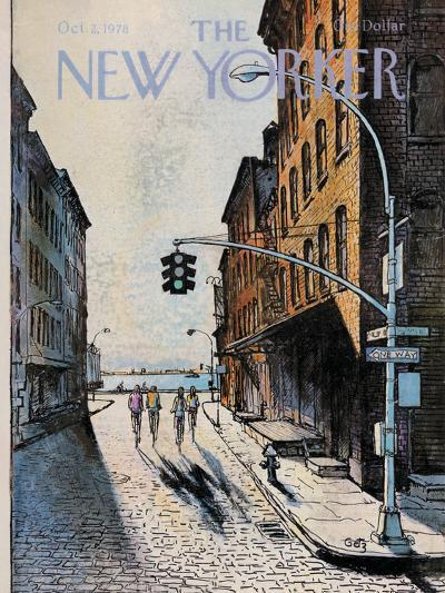 The New Yorker Cover - October 2, 1978-Arthur Getz-Premium Giclee Print