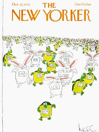 The New Yorker Cover - October 22, 1979-Arnie Levin-Premium Giclee Print